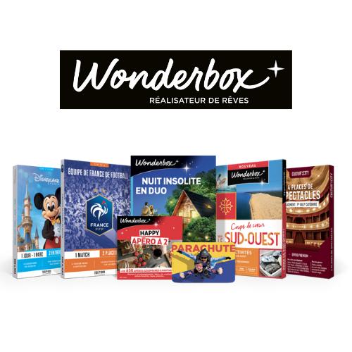15€ de remise sur Wonderbox