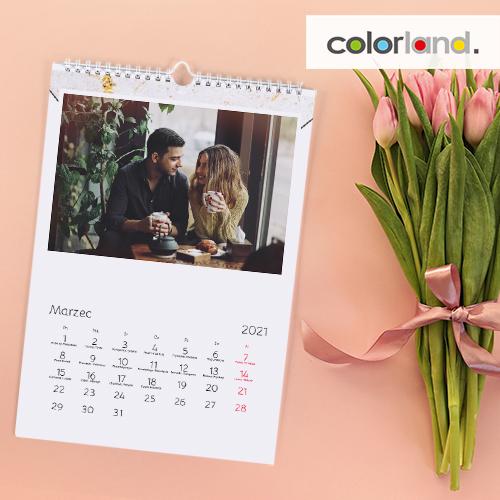 A4 Calendar with a discount