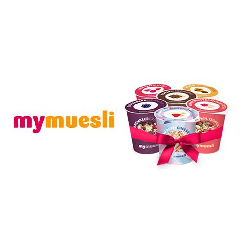 Gratis* mymuesli2go Probierpaket zu Deiner Bestellung bei mymuesli