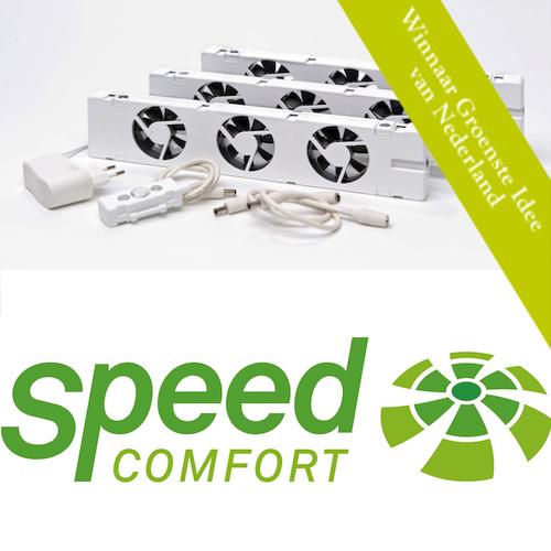 Speed Comfort: Radiatorventilator met 25% korting