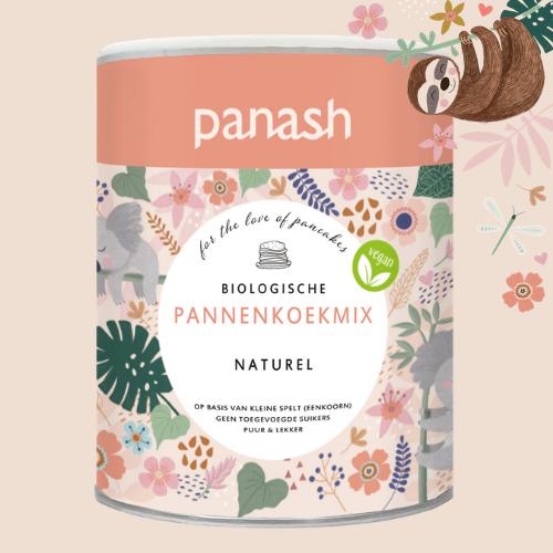 Panash: Pancake Mix Natural gratuit d'une valeur de 3,99€