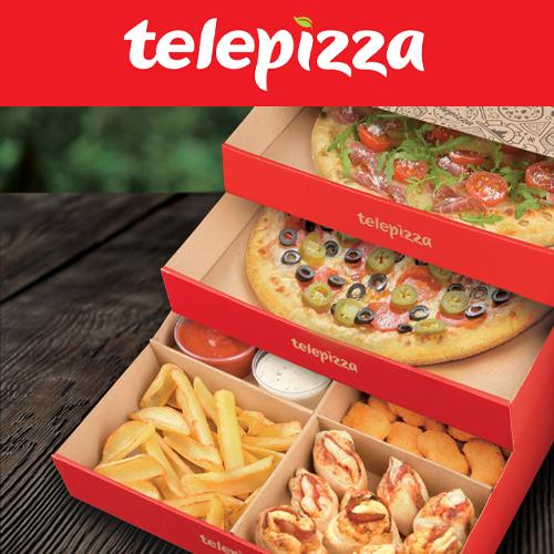 10 PLN voucher from Telepizza on Pyszne.pl
