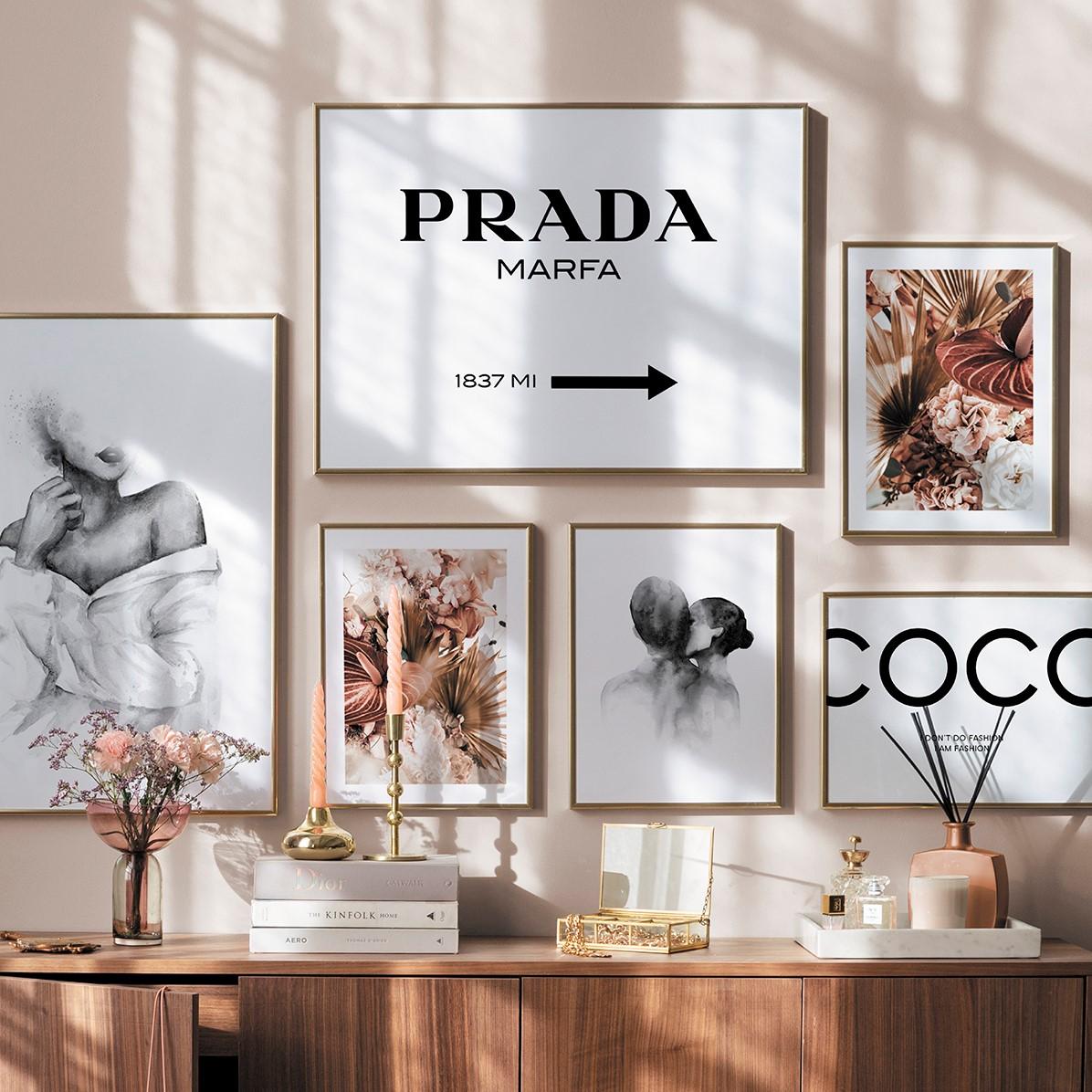 Dekoriere deine Wände mit neuer Wandkunst! Spare 5€ auf Poster.*